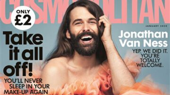 "Cosmo UK Features First ""Non-Female"" on Their Cover in 35 Years...Donning A Dress ⋆ Activist Mommy"
